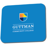 Community College Full Color Mousepad-Guttman Community College w/ Shield