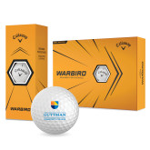 Community College Callaway Warbird Golf Balls 12/pkg-Guttman Community College w/ Shield