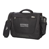 High Sierra Black Upload Business Compu Case-Guttman Community College Word Mark