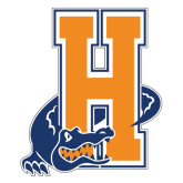 Large Decal-Hostos H w/Alligator, 12 inches tall