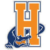 Extra Large Decal-Hostos H w/Alligator, 18 inches tall