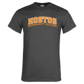 Charcoal T Shirt-Hostos Community College Arch