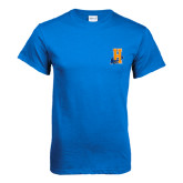 Community College Royal T Shirt-Hostos H w/Alligator