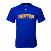Under Armour Royal Tech Tee-Hostos Soccer Arch