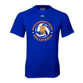 Under Armour Royal Tech Tee-Hostos Volleyball