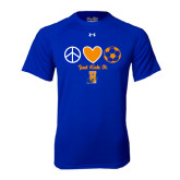 Under Armour Royal Tech Tee-Hostos Soccer