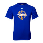 Under Armour Royal Tech Tee-Hostos Basketball