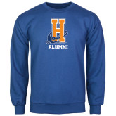 Community College Royal Fleece Crew-Alumni