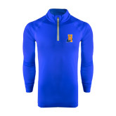 Community College Under Armour Royal Tech 1/4 Zip Performance Shirt-Hostos H w/Alligator