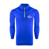 Community College Under Armour Royal Tech 1/4 Zip Performance Shirt-Hostos Community College w/Sun