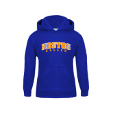 Community College Youth Royal Fleece Hoodie-Hostos Soccer Arch