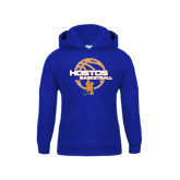 Community College Youth Royal Fleece Hoodie-Hostos Basketball
