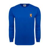 Royal Long Sleeve T Shirt-Hostos H w/Alligator