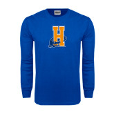 Royal Long Sleeve T Shirt-Hostos H w/Alligator