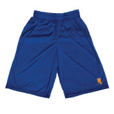 Community College Russell Performance Royal 10 Inch Short w/Pockets-Hostos H w/Alligator