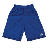 Community College Russell Performance Royal 10 Inch Short w/Pockets-Hostos Community College w/Sun