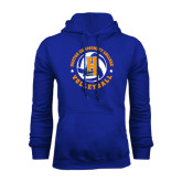 Community College Royal Fleece Hoodie-Hostos Volleyball
