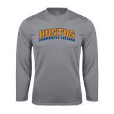 Community College Performance Steel Longsleeve Shirt-Hostos Community College Arch