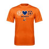 Performance Orange Tee-Hostos Soccer