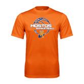 Performance Orange Tee-Hostos Basketball
