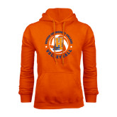 Community College Orange Fleece Hoodie-Hostos Volleyball
