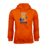 Community College Orange Fleece Hoodie-Alumni