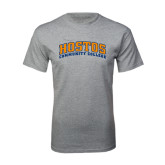 Grey T Shirt-Hostos Community College Arch