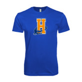 Next Level SoftStyle Royal T Shirt-Hostos H w/Alligator