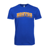 Next Level SoftStyle Royal T Shirt-Hostos Community College Arch