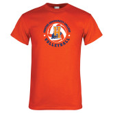 Orange T Shirt-Hostos Volleyball
