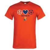 Orange T Shirt-Hostos Soccer