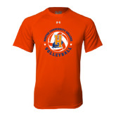 Under Armour Orange Tech Tee-Hostos Volleyball