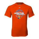 Under Armour Orange Tech Tee-Hostos Basketball