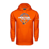 Community College Under Armour Orange Performance Sweats Team Hoodie-Hostos Basketball