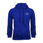 Community College Royal Fleece Hoodie-Hostos w/Sun