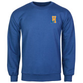 Community College Royal Fleece Crew-Hostos H w/Alligator