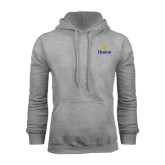 Community College Grey Fleece Hoodie-Hostos w/Sun