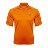 Community College Orange Textured Saddle Shoulder Polo-Hostos H w/Alligator