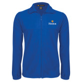 Fleece Full Zip Royal Jacket-Hostos w/Sun