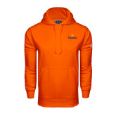 Community College Under Armour Orange Performance Sweats Team Hoodie-Hostos w/Sun