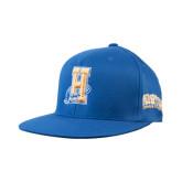Community College Royal OttoFlex Flat Bill Pro Style Hat-Hostos H w/Alligator