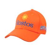 Community College Orange Heavyweight Twill Pro Style Hat-Hostos w/Sun