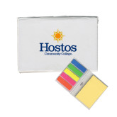 Community College Micro Sticky Book-Hostos Community College w/Sun Stacked