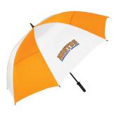 62 Inch Orange/White Umbrella-Hostos Community College Arch