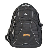 Community College High Sierra Swerve Black Compu Backpack-Hostos Community College Arch