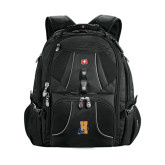 Wenger Swiss Army Mega Black Compu Backpack-Hostos H w/Alligator