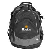 Community College High Sierra Black Titan Day Pack-Hostos w/Sun
