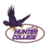 Large Decal-Hunter College, 12 in long