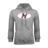 Grey Fleece Hoodie-H Mark