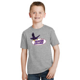Youth Grey T-Shirt-Hunter College